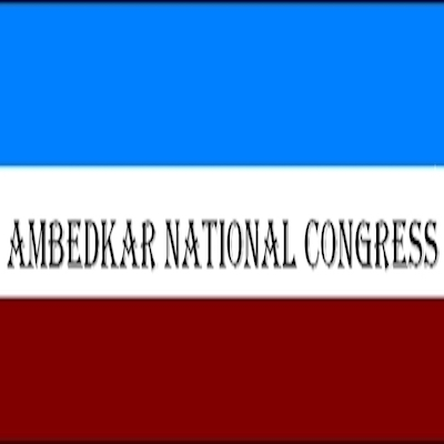 Ambedkar National Congress logo