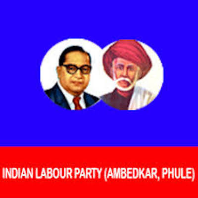 Indian Labour Party (Ambedkar Phule) logo